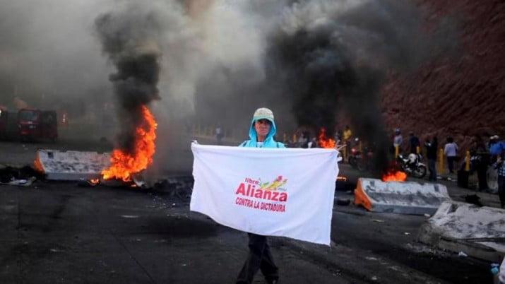 En Honduras decretaron el estado de sitio por diez días