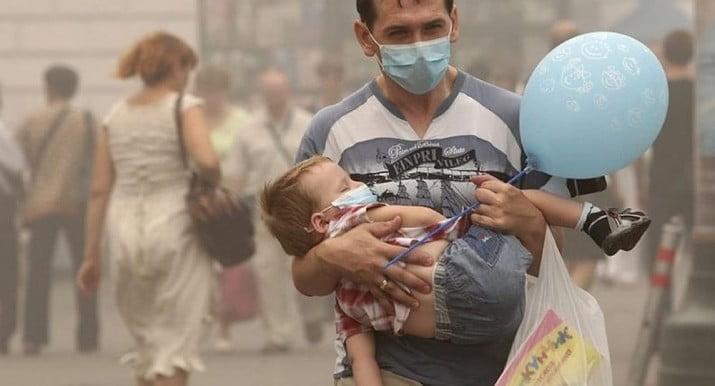 Revelan que la contaminación es peligrosa para el cerebro del bebé
