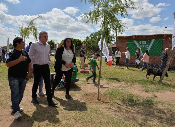 Escuela de Fútbol 1º de Mayo: se habilitaron vestuarios