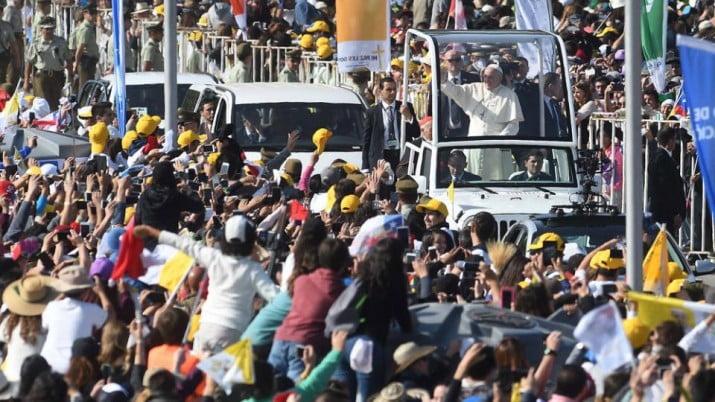 """El Papa pidió respetar a los pueblos originarios """"Es preciso escucharlos"""""""
