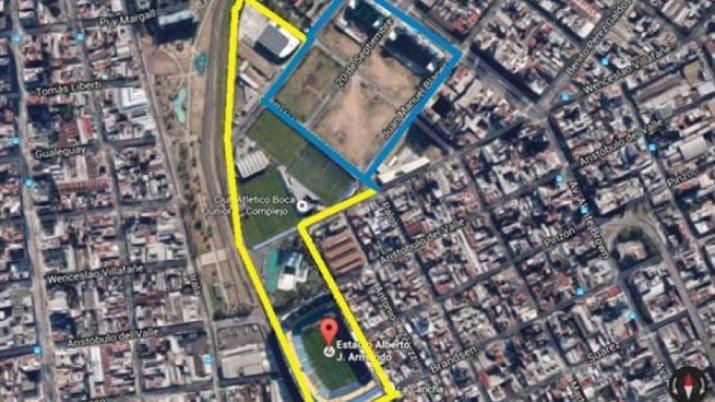 Frenan la cesión de los terrenos de Casa Amarilla a Boca