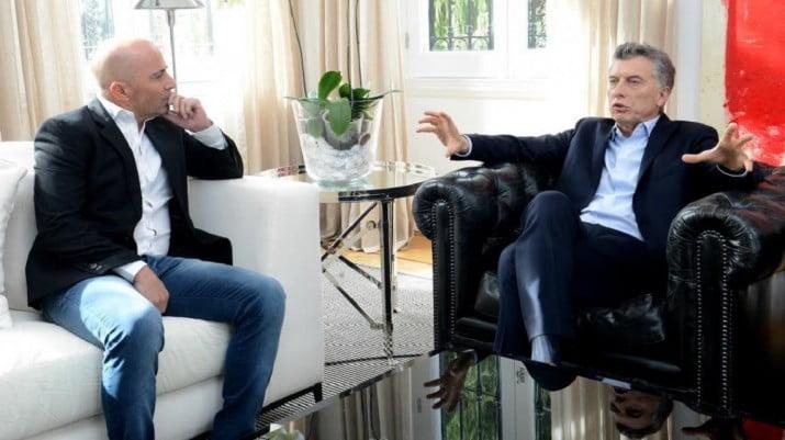 """Sampaoli y Macri, cara a cara: claves de una reunión """"secreta"""""""