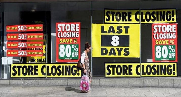En EEUU: esperan el cierre del 25% de los shopping