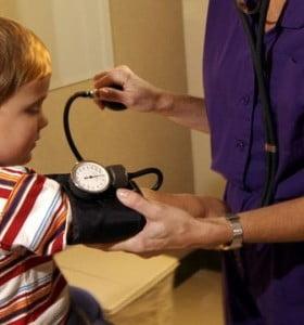 Hipertensión, un problema que también afecta a los niños