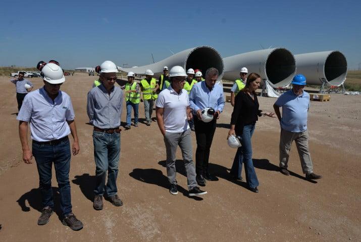 Vidal visitó Bahía Blanca y anunció inversiones millonarias para obras