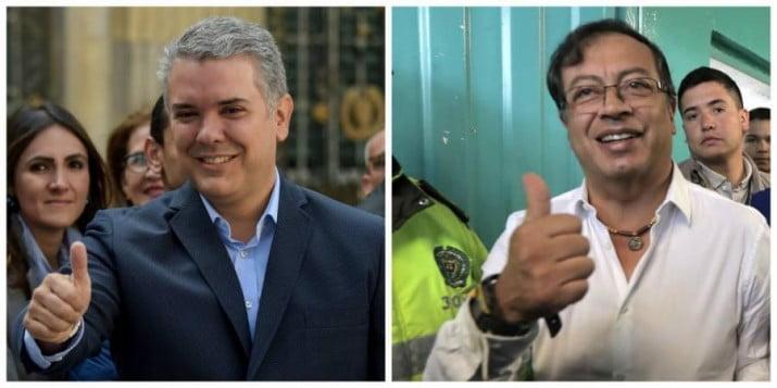 Colombia: nueve millones de votos para las opciones de los extremos