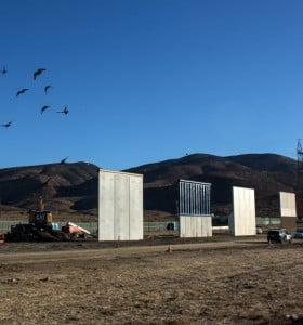 Trump avanza con su muro para asilar México