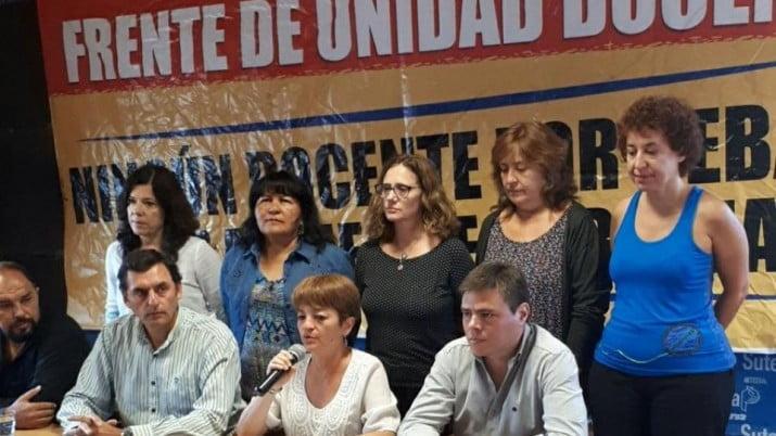 Denuncia del Frente de Unidad Docente Bonaerense