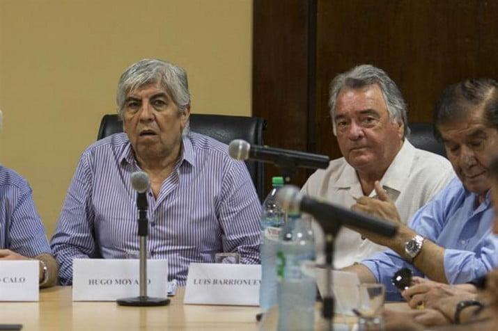 CGT: tregua con vuelta de Barrionuevo y sin Moyano