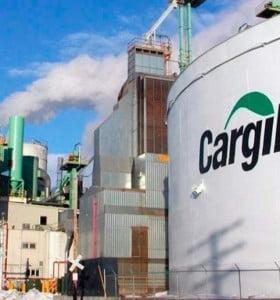 Aceiteros paralizan el principal complejo cerealero de Cargill