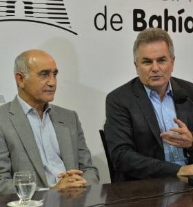 El vicegobernador Daniel Salvador pasó por Bahía