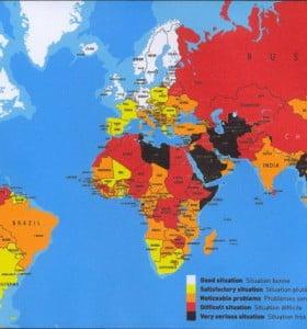 Más abajo en el ranking mundial de libertad de prensa