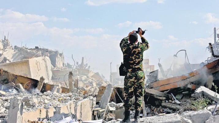 Después del bombardeo a Siria llega la ofensiva diplomática