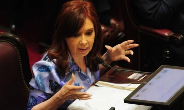 Cristina Kirchner quiere suspender por ley los tarifazos del Gobierno