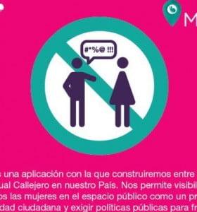Lanzan aplicación para crear el mapa nacional del acoso callejero