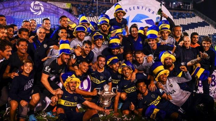 Boca gritó campeón en La Plata
