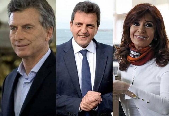 Encuestas: Cae Macri, crece Massa