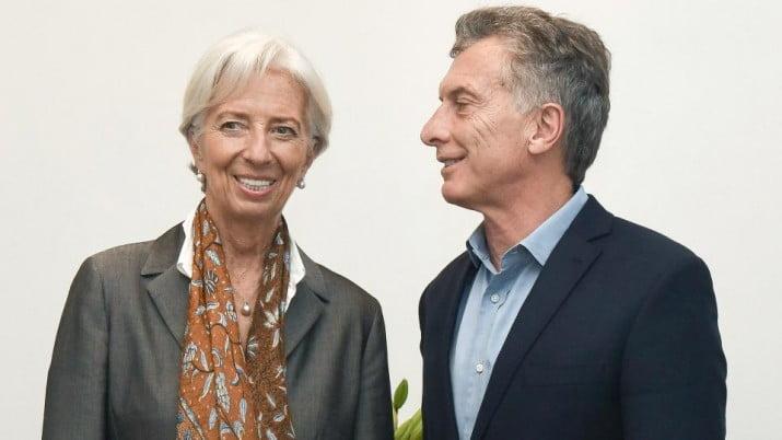 Elogios del FMI a Macri