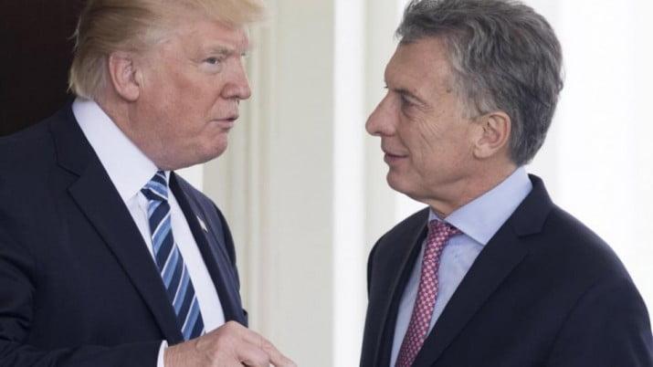 """Trump dijo que Macri está haciendo """"un buen trabajo"""""""