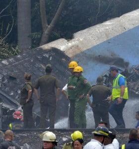 Dos argentinos murieron en el accidente aéreo en Cuba