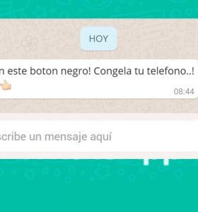 El botón negro de WhatsApp: ¿de qué se trata?