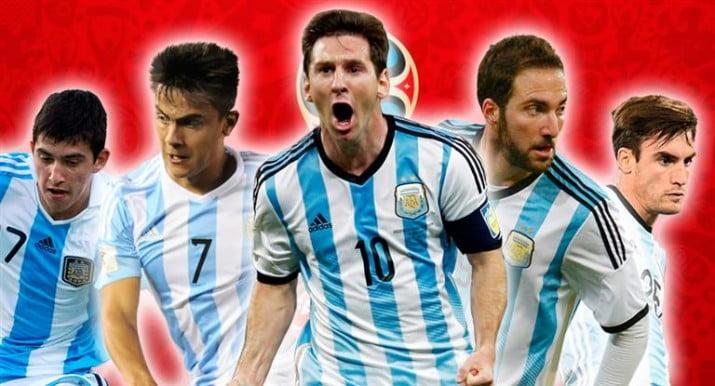 ¿Cuál es el historial de los futbolistas preseleccionados para la Selección?