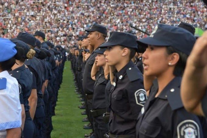 Hay más de 20 mil policías sumariados y 625 detenidos desde que asumió Vidal