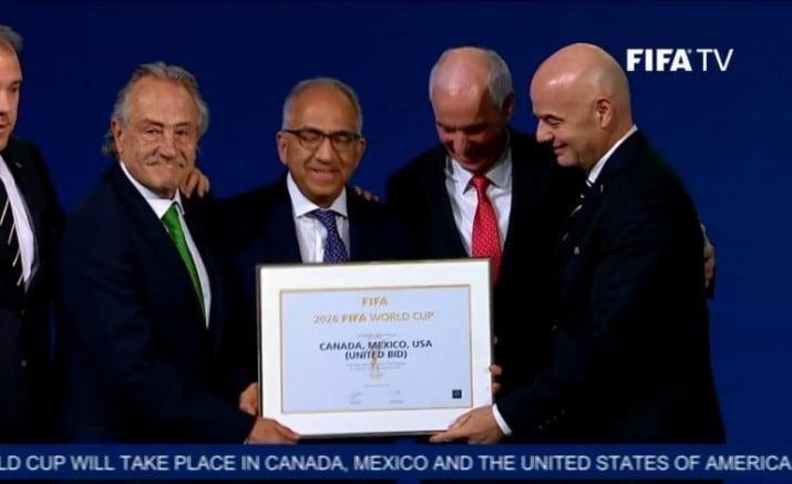 Mundial 2026: la FIFA eligió a México, EE.UU. y Canadá