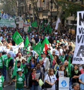 El peronismo buscará ensayar la unidad en el paro nacional de la CGT