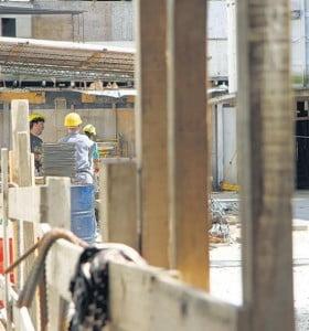 Alerta en la construcción