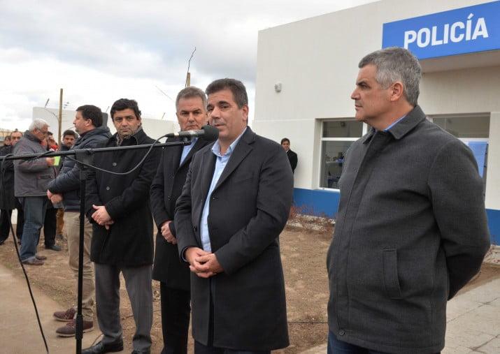 Nueva dependencia policial, se inaurugó la Comisaría 7°