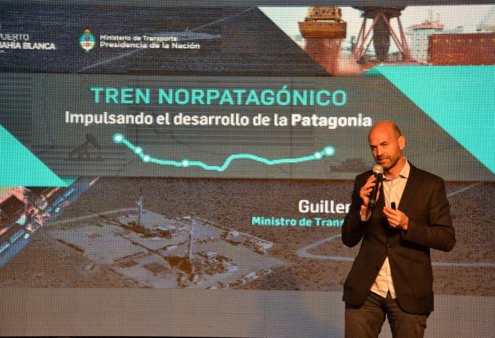 Dietrich presentó el proyecto del Tren Norpatagónico