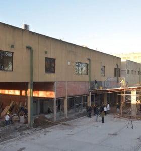Hospital Penna: más de 200 millones de pesos de inversión en obras de infraestructura