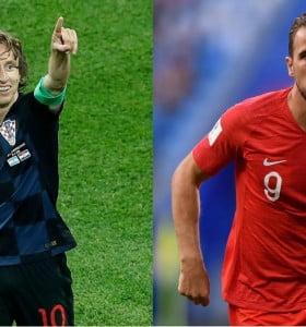 Inglaterra y Croacia definen el segundo finalista