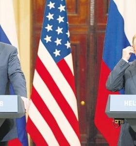 Salvo a Putin, Trump le disparó a todo el mundo