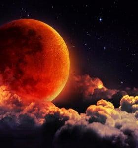 Marte y la Luna ofrecerán un eclipse increíble