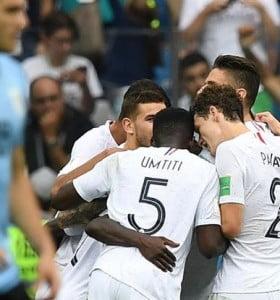 Francia le puso freno al sueño de Uruguay y se metió en semifinales
