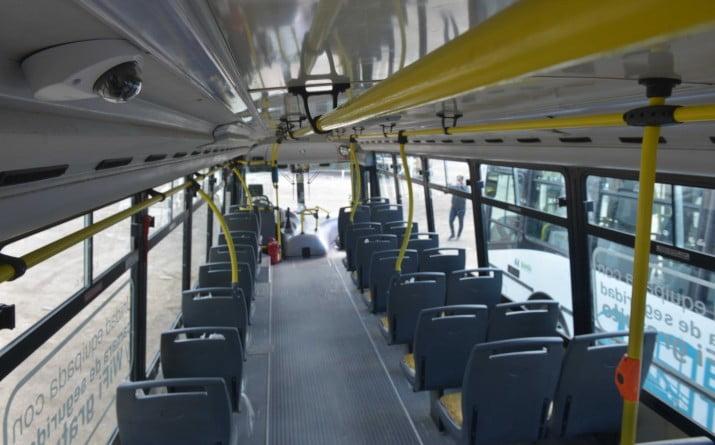 Sistema de cámaras y WiFi en unidades de Bahía Transporte SAPEM