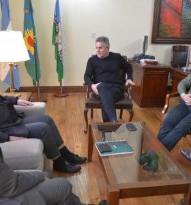 El intendente se reunió con las autoridades de UNIPAR Indupa