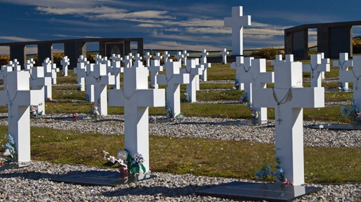 Identificaron a otros tres de los soldados enterrados en Malvinas