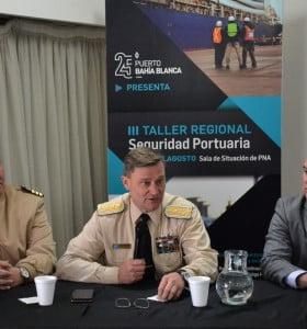 Se llevó a cabo el tercer taller regional de seguridad porturaria