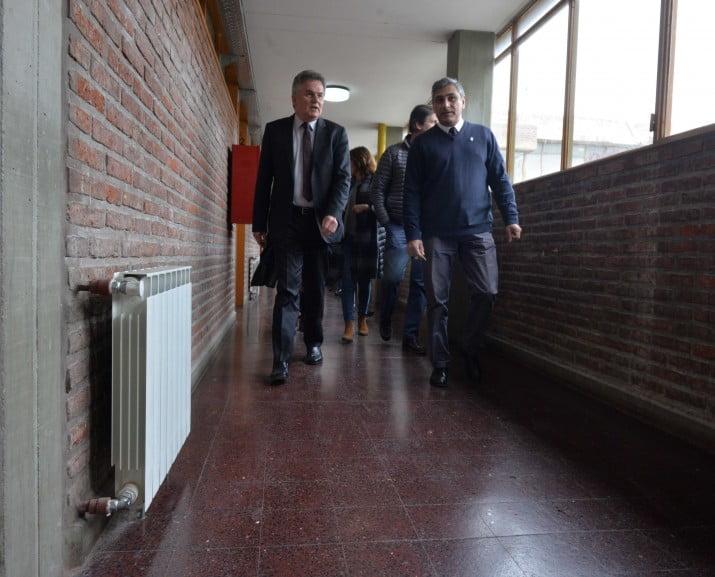 Se renovó el sistema de calefacción en la Escuela Técnica Nº 2