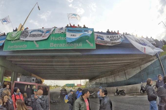 Río Santiago, Trabajadores toman la planta