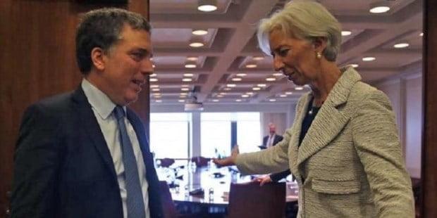 Se frenó desembolso del FMI por u$s 3.000 M