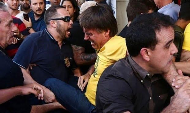 Apuñalaron a Jair Bolsonaro en Brasil