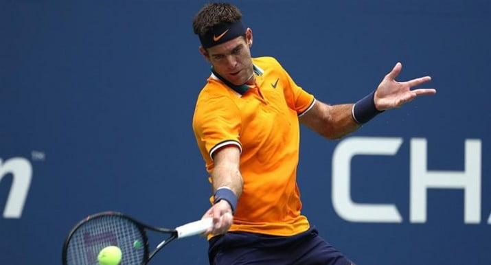 Del Potro le ganó a Nadal por retiro y juega la final del US Open