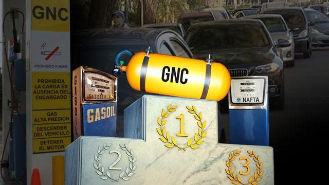 Crece el uso del  GNC por el incremento en las naftas