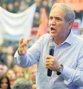 Las voces del sindicalismo en la marcha a Luján
