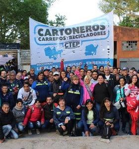 Cartoneros de todo el mundo se reunieron en la Argentina