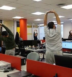 Actividad física: la mejor aliada incluso durante el trabajo